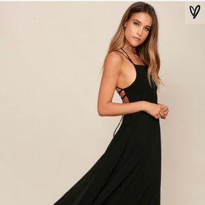 Lulu's Strappy To Be Here maxi dress